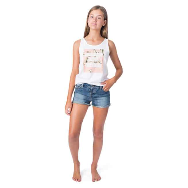 Rip Curl Girl Island Time Tank White. Rip Curl Singlets & Tanks found in Girls Singlets & Tanks & Girls T-shirts & Singlets. Code: JTEEB1
