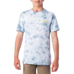 Rip Curl Sun Tie Dye Tee-boys Mid Blue. Rip Curl Tees found in Boys Tees & Boys T-shirts & Singlets. Code: KTEUY2