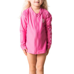 Rip Curl Groms L/sl Zip Through Uv Te Hot Pink. Rip Curl Rashvests found in Toddlers Rashvests & Toddlers Wetsuits. Code: WLY5HO