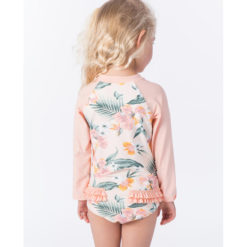 Rip Curl Mini Coconut Time Long Sleeve Suit Peach. Rip Curl Rashvests found in Toddlers Rashvests & Toddlers Wetsuits. Code: WLY9EF