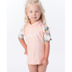Rip Curl Mini Coconut Time Short Sleeve Peach. Rip Curl Rashvests found in Toddlers Rashvests & Toddlers Wetsuits. Code: WLY9FF