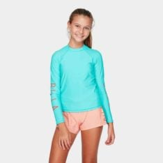 Billabong Girlhood Rashguard Ocean Blue. Billabong Rashvests found in Girls Rashvests & Girls Wetsuits. Code: 5791003