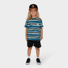 Billabong Groms Tear Stripe Tee Blue. Billabong Tees found in Toddlers Tees & Toddlers T-shirts & Singlets. Code: 7591006