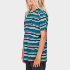 Billabong Boys Tear Stripe Tee Blue. Billabong Tees found in Boys Tees & Boys T-shirts & Singlets. Code: 8591018