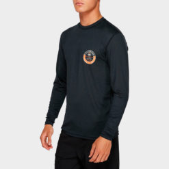 Billabong Sea Shore Loose Fit Long Sleeve Rashie Black Heathe. Billabong Rashvests found in Mens Rashvests & Mens Wetsuits. Code: 9791507