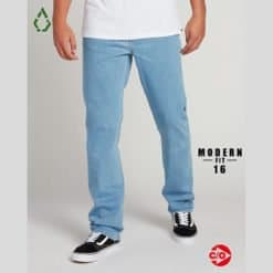 Volcom Solver Denim Thrifter Blue Light. Volcom Jeans found in Mens Jeans & Mens Pants & Jeans. Code: A1931503+