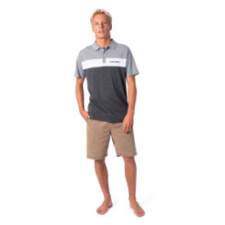 Rip Curl Undertow Panel Polo Black Marle. Rip Curl Polos found in Mens Polos & Mens Shirts. Code: CPLCQ1