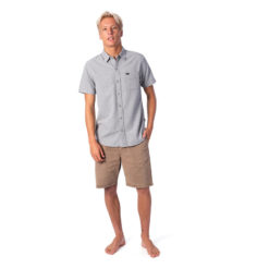 Rip Curl Sketch Short Sleeve Shirt Charcoal. Rip Curl Shirts - Short Sleeve found in Mens Shirts - Short Sleeve & Mens Shirts. Code: CSHML1