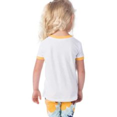 Rip Curl Mini Rainbow Ringer Tee White. Rip Curl Tees found in Toddlers Tees & Toddlers T-shirts & Singlets. Code: FTEBZ1