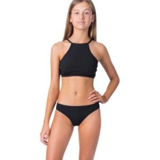Rip Curl Girl Luxe Rib Bikini Black. Rip Curl Swimwear - Separates found in Girls Swimwear - Separates & Girls Swimwear. Code: JSIDW1