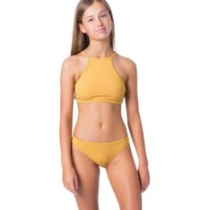 Rip Curl Girl Luxe Rib Bikini Mustard. Rip Curl Swimwear - Separates found in Girls Swimwear - Separates & Girls Swimwear. Code: JSIDW1