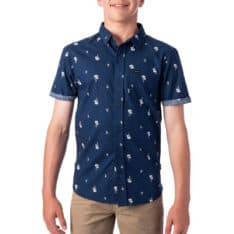Rip Curl Palm Days Short Sleeve Shirt-boys Navy. Rip Curl Shirts - Short Sleeve found in Boys Shirts - Short Sleeve & Boys Shirts. Code: KSHMJ1