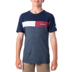 Rip Curl Undertow Panel Tee-boys Navy Marle. Rip Curl Tees found in Boys Tees & Boys T-shirts & Singlets. Code: KTESG2