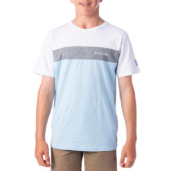 Rip Curl Undertow Panel Tee-boys White/grey. Rip Curl Tees found in Boys Tees & Boys T-shirts & Singlets. Code: KTESG2