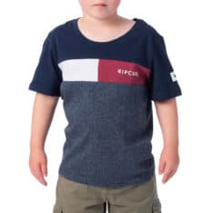 Rip Curl Undertow Panel Tee-groms Navy Marle. Rip Curl Tees found in Toddlers Tees & Toddlers T-shirts & Singlets. Code: OTESG2