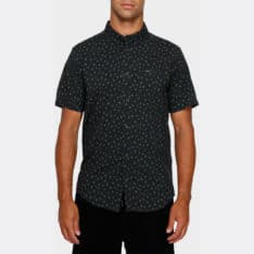 Rvca Prelude Floral Short Sleeve Shirt Pirate Black. Rvca Shirts - Short Sleeve found in Mens Shirts - Short Sleeve & Mens Shirts. Code: R391187