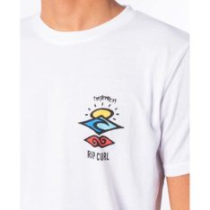 Rip Curl Search Logo Short Sleeve Uv Tee White. Rip Curl Rashvests found in Mens Rashvests & Mens Wetsuits. Code: WLE9CM