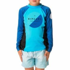 Rip Curl Grom Eclipse L/sl Uv Tee Blue. Rip Curl Rashvests found in Toddlers Rashvests & Toddlers Wetsuits. Code: WLY8CO