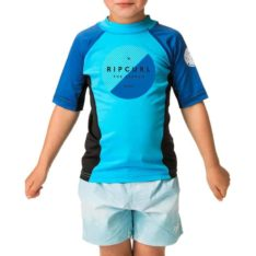Rip Curl Grom Eclipse Short Sleeve Uv Tee Blue. Rip Curl Rashvests found in Toddlers Rashvests & Toddlers Wetsuits. Code: WLY8DO
