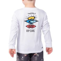Rip Curl Grom Search Logo Long Sleeve White. Rip Curl Rashvests found in Toddlers Rashvests & Toddlers Wetsuits. Code: WLY9AO