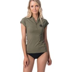 Rip Curl Premium Rib F/zip Cap/sl Olive. Rip Curl Rashvests found in Womens Rashvests & Womens Wetsuits. Code: WLY9AW