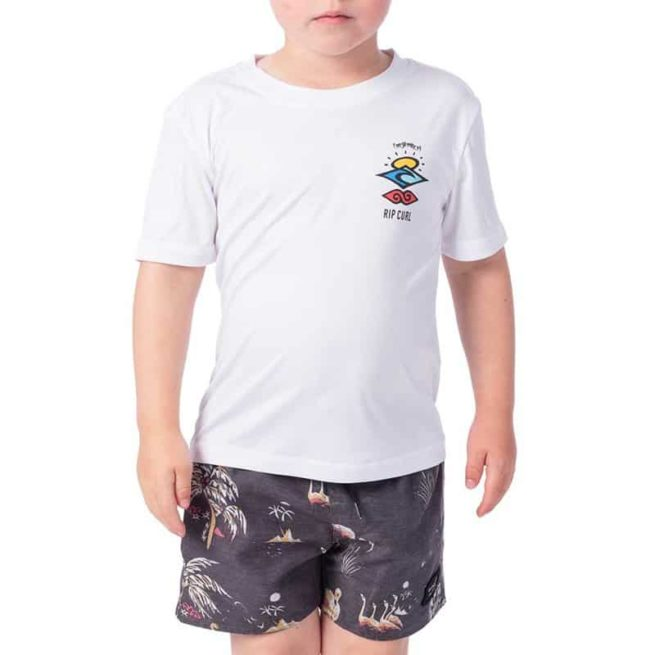 Rip Curl Grom Search Logo Short Sleeve White. Rip Curl Rashvests found in Toddlers Rashvests & Toddlers Wetsuits. Code: WLY9BO