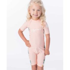 Rip Curl Mini Short Sleeve Uv Spring Peach. Rip Curl Rashvests found in Toddlers Rashvests & Toddlers Wetsuits. Code: WLY9CF