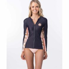 Rip Curl Island Time Zip Through Long Sleeve Light Pink. Rip Curl Rashvests found in Womens Rashvests & Womens Wetsuits. Code: WLY9HW