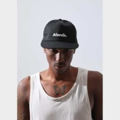 Afends Home Grown Snapback Cap Black. Afends Hats & Caps found in Mens Hats & Caps & Mens Headwear. Code: A194601