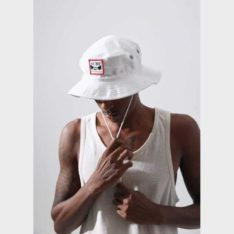 Afends Surf Related Hemp Bucket White. Afends Hats & Caps found in Mens Hats & Caps & Mens Headwear. Code: A194609