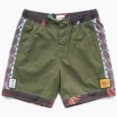 Critical Slide Society Mixed Tape Trunk Olive. Critical Slide Society Boardshorts - Fitted Waist found in Mens Boardshorts - Fitted Waist & Mens Shorts. Code: BS1904
