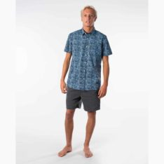 Rip Curl Barrelsnake Short Sleeve Shirt Blue River. Rip Curl Shirts - Short Sleeve found in Mens Shirts - Short Sleeve & Mens Shirts. Code: CSHMV1