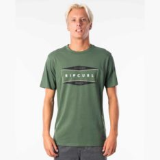 Rip Curl The Daly Tee Dark Olive. Rip Curl Tees found in Mens Tees & Mens T-shirts & Singlets. Code: CTEKK9