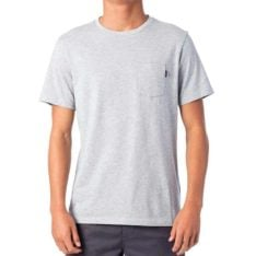 Rip Curl Plain Pocket Tee Grey Marle. Rip Curl Tees found in Mens Tees & Mens T-shirts & Singlets. Code: CTESY2