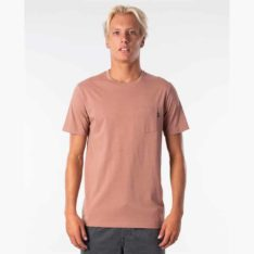 Rip Curl Plain Pocket Tee Mushroom. Rip Curl Tees found in Mens Tees & Mens T-shirts & Singlets. Code: CTESY2