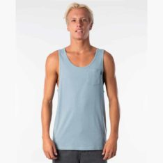 Rip Curl Plain Tank Dusty Blue. Rip Curl Singlets & Tanks found in Mens Singlets & Tanks & Mens T-shirts & Singlets. Code: CTETA2