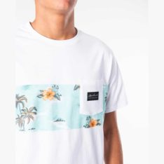 Rip Curl Palm Beach Panel Tee White. Rip Curl Tees found in Mens Tees & Mens T-shirts & Singlets. Code: CTETX2