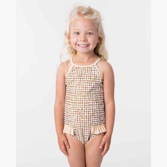 Rip Curl Mini Paradise Cove 1 Pc Gold. Rip Curl Swimwear - One Piece found in Toddlers Swimwear - One Piece & Toddlers Swimwear. Code: FSICK1