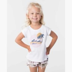 Rip Curl Mini Paradise Wave Tee White. Rip Curl Tees found in Toddlers Tees & Toddlers T-shirts & Singlets. Code: FTECD1