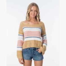 Rip Curl Sunsetters Sweater Multi. Rip Curl Sweats found in Womens Sweats & Womens Jackets, Jumpers & Knits. Code: GSWNG9