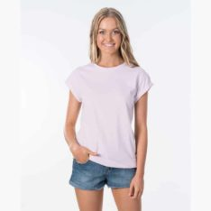 Rip Curl Plains Tee Light Purple. Rip Curl Tees found in Womens Tees & Womens T-shirts & Singlets. Code: GTENZ1