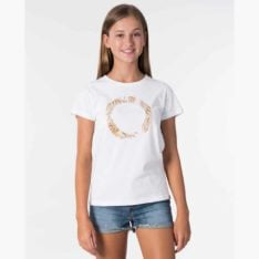 Rip Curl Girl Drift Tee White. Rip Curl Tees found in Girls Tees & Girls T-shirts & Singlets. Code: JTEEI1