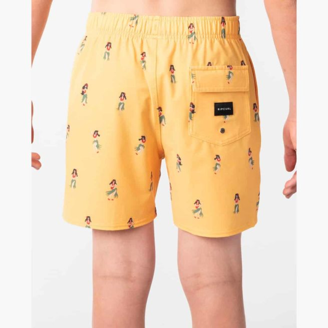 Rip Curl Vacation Volley-boys Washed Yellow. Rip Curl Boardshorts - Elastic Waist found in Boys Boardshorts - Elastic Waist & Boys Shorts. Code: KBOVI2