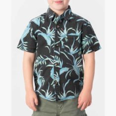 Rip Curl Spacey Short Sleeve Shirt-grom Washed Black. Rip Curl Shirts - Short Sleeve found in Toddlers Shirts - Short Sleeve & Toddlers Shirts. Code: OSHMU1