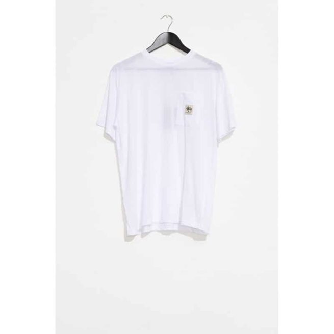 Stussy Graffiti Pocket Boyfriend Tee White. Stussy Fashion Tops found in Womens Fashion Tops & Womens Tops. Code: ST192007