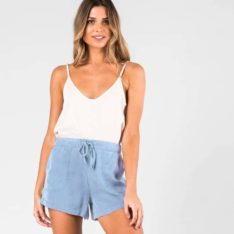 Rusty Bounds Short Powdery Blue. Rusty Walkshorts - Elastic Waist found in Womens Walkshorts - Elastic Waist & Womens Shorts. Code: WKL0667