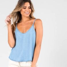 Rusty Bounds Cami Powdery Blue. Rusty Fashion Tops found in Womens Fashion Tops & Womens Tops. Code: WSL0627