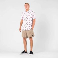 Rusty Lobster Mornay Short Slee Sable. Rusty Shirts - Short Sleeve found in Mens Shirts - Short Sleeve & Mens Shirts. Code: WSM0881