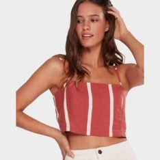 Billabong Rockpool Stripe Cami Rok. Billabong Fashion Tops found in Womens Fashion Tops & Womens Tops. Code: 6592092