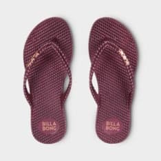 Billabong Kick Back Thong Wine. Billabong Thongs found in Womens Thongs & Womens Footwear. Code: 6661858